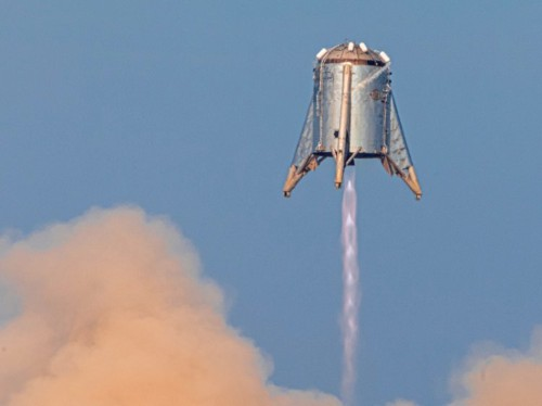 New documents reveal SpaceX's plans for launching Mars-rocket prototypes from South Texas