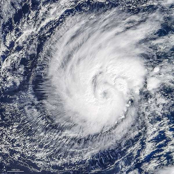 A very strange hurricane just popped up in the Pacific - Business Insider