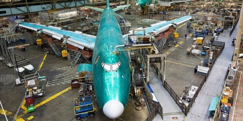 Boeing reportedly received no new plane orders last month