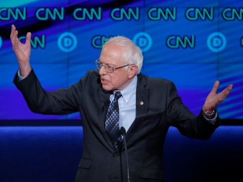 Here's the Herculean effort Bernie Sanders would have to undertake to try to keep one of his campaign promises