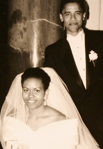 23 romantic photos of Michelle and Barack Obama on their 23rd anniversary
