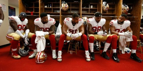 The San Francisco 49ers have the NFL's first emotional support dog
