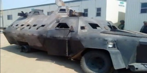 These are the features of Mexico's monstrous homemade narco tanks