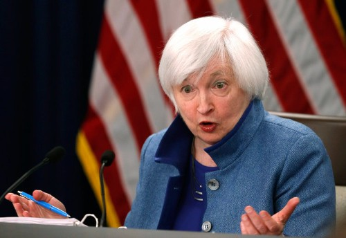 Yellen says Fed wouldn't have to help White House currency intervention