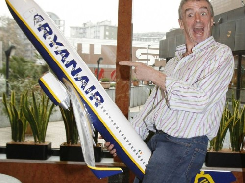 Ryanair Is Going To Start Plastering Ads On Its Planes To Make Money