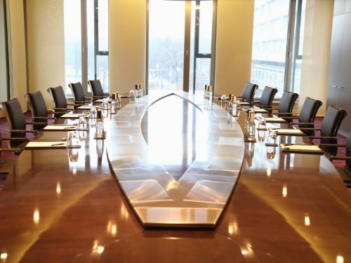 My first meeting as Chief Diversity Officer, there was no seat for me