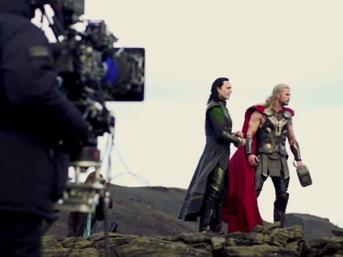 Here's How 'Thor: The Dark World' Looks Without Visual Effects