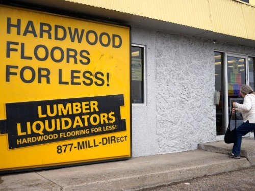 Lumber Liquidators has reached a $10 million settlement with the DOJ, and the stock is soaring