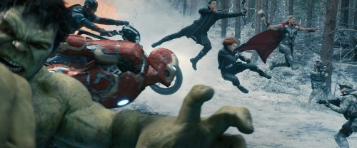That impressively detailed sculpture from the 'Avengers: Age of Ultron' credits actually exists in real life