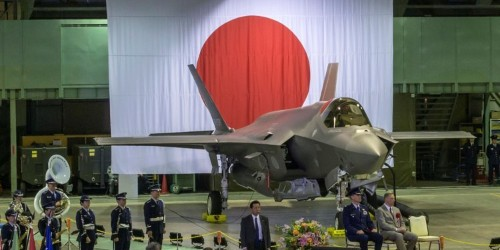 The US and Japan say there's no way Russia or China could get to Japan's missing F-35 fighter jet first