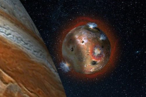 The sky is (literally) falling on Jupiter's most hellish moon