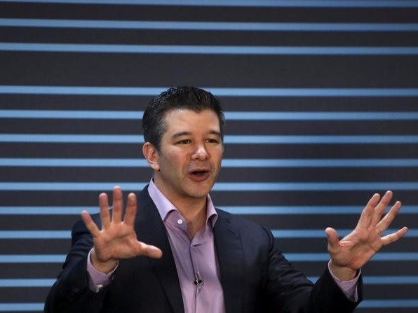 Uber CEO says it's 'nowhere near' going public even though Mark Zuckerberg is pressuring him