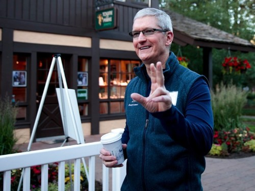 Apple CEO Tim Cook just hinted at what could be Apple's next big product