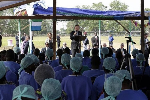 Sierra Leone now has means to control Ebola epidemic: UN
