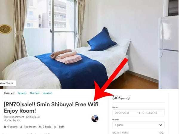 Japan travel tips: Stay in Airbnb, not hotels for free wifi everywhere - Business Insider