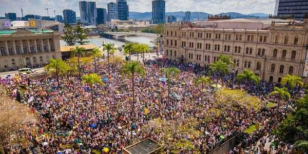 Global Climate Strike: Photos show scale of protest around world - Business Insider