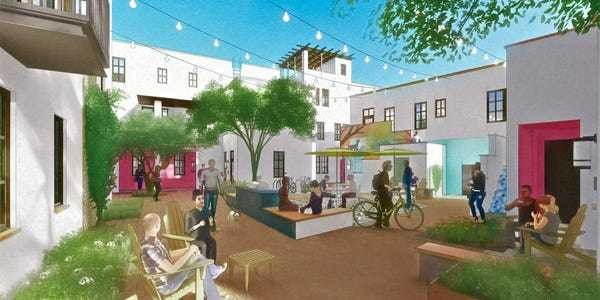 Car-free neighborhood will be built next year in Arizona - Business Insider