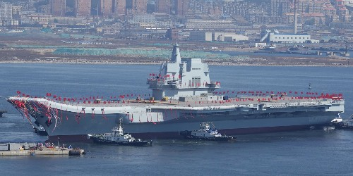China's first home-made aircraft carrier could enter service within months - Business Insider