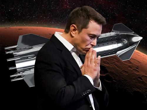 Elon Musk to reveal new design of Starship rocket for landing on Mars
