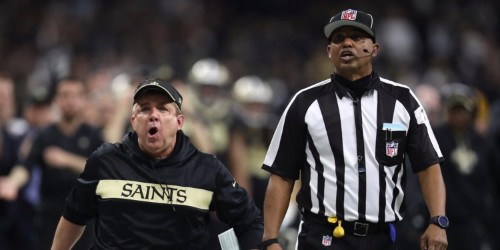 Sean Payton and the Rams defender were given 2 different explanations for why pass interference wasn't called on controversial game-changing play