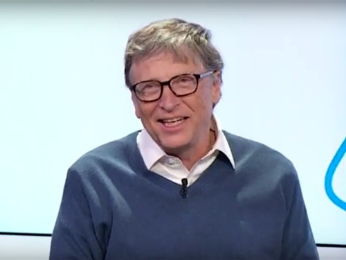 Bill Gates offered the best advice on how to not feel overwhelmed when taking on huge projects