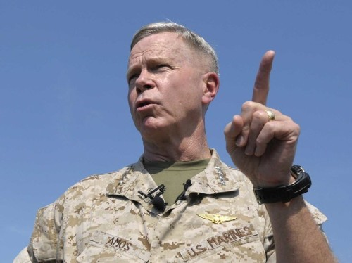 Nearly 30 Military Officers Press Congress To Investigate The Marine Corps' Top General