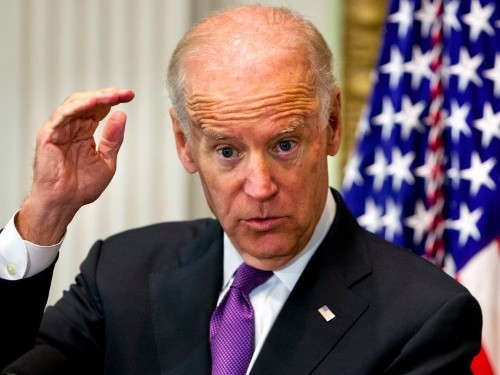 There appears to be an emerging consensus on Joe Biden — but he's sending clear signals he's not listening