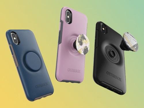 OtterBox now makes smartphone cases with built-in PopSockets that you can swap out whenever you want
