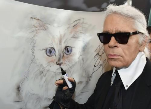 Karl Lagerfeld plans an all-fur show at Paris Fashion Week amid near-boiling temperatures