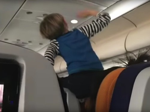 A Lufthansa passenger filmed a 'demonic' child screaming for 8 hours on a flight — and people are horrified