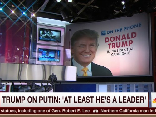 Donald Trump left Joe Scarborough stunned after being asked about Vladimir Putin killing journalists