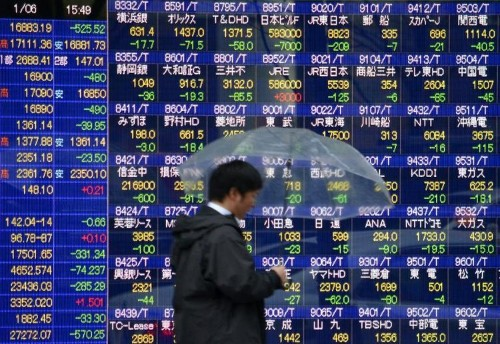 Hopes for Greek deal boost Asian shares, euro