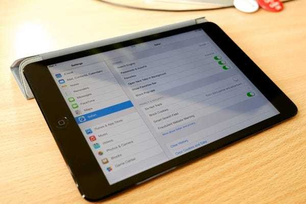 How to clear the cookies on your iPad to help it run more efficiently - Business Insider