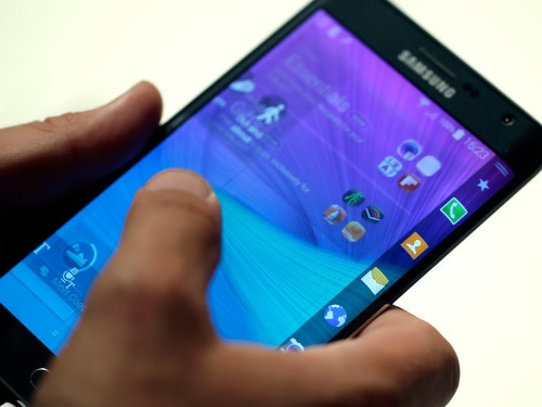 Samsung's New Phone With A Curved Screen Is Going To Cost Nearly $1,000