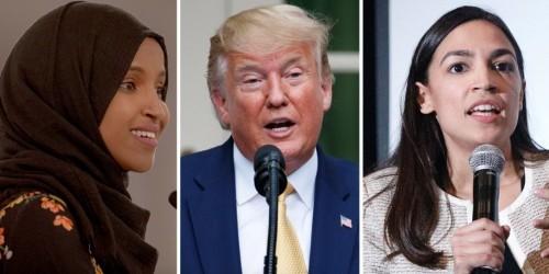Trump groundlessly accuses congresswomen of being 'pro-terrorist'