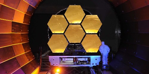 NASA just completed its $8.7 billion space telescope that will replace the Hubble