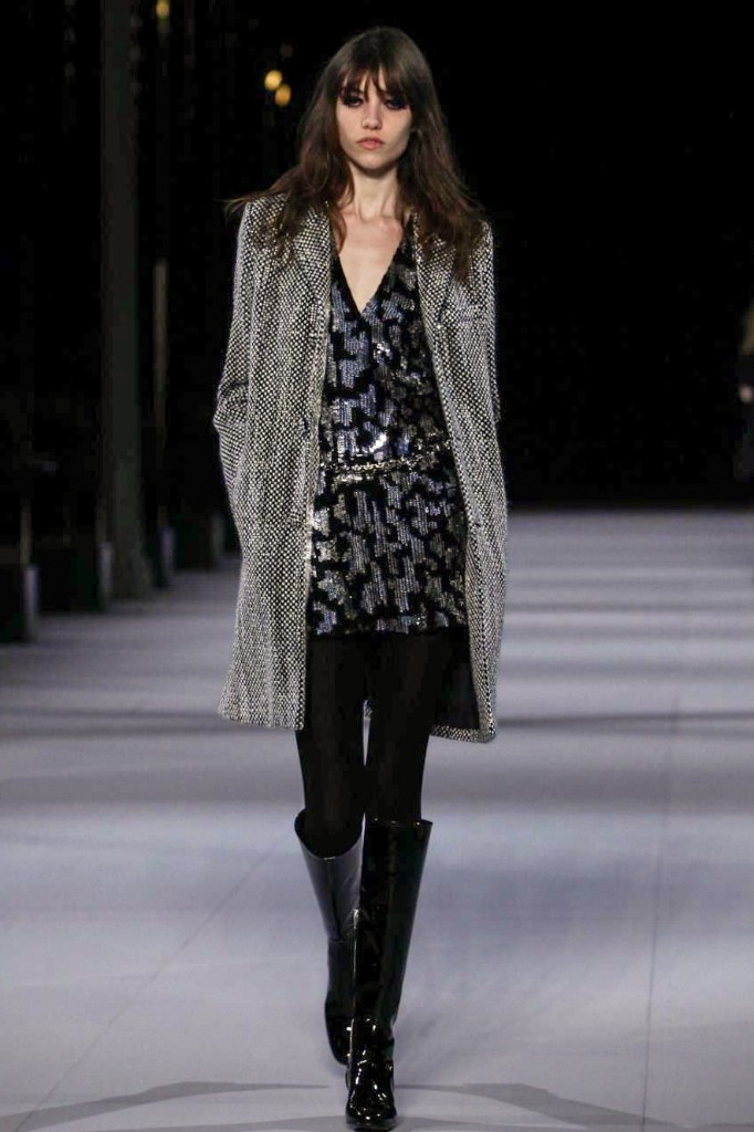 A Sparkling, Rock 'n' Roll Saint Laurent