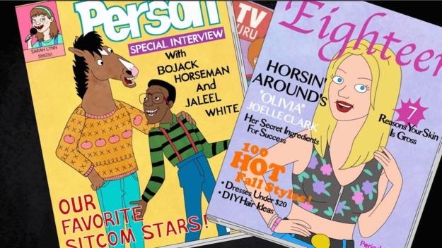 The Tom - Magazine cover