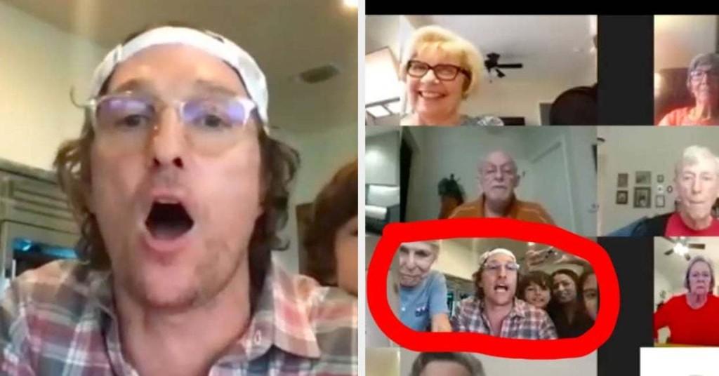 Matthew McConaughey Hosted A Virtual Bingo Night For Seniors In Quarantine And It Was So Damn Pure