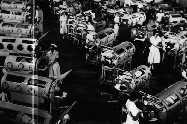 La historia de Martha Mason: la mujer que pasó 61 años dentro de un pulmón de acero