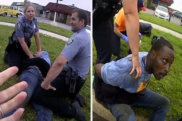 """""""I Can't Breathe,"""" A Black Man In Oklahoma Said. """"I Don't Care,"""" A Police Officer Replied."""