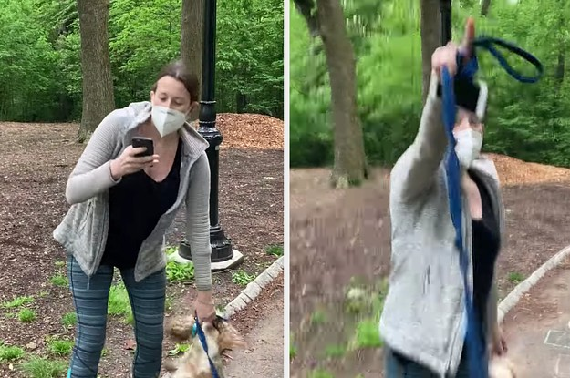 A White Woman Told Cops A Black Man Was Threatening Her Life When He Asked Her To Leash Her Dog
