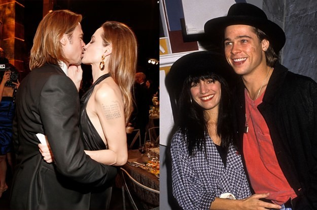 Twitter Is Losing Its Mind Over These Pictures Of Brad Pitt Looking Like His Girlfriends