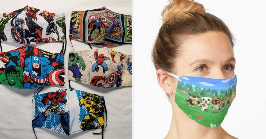20 Pop Culture Nonmedical Masks You Can Buy Online