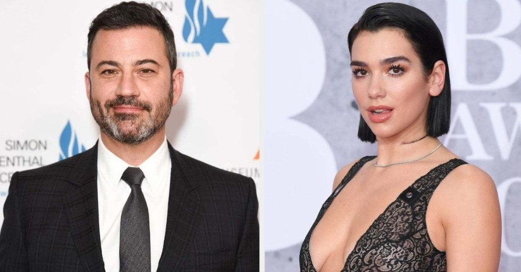 Jimmy Kimmel Defended Dua Lipa Against A Sexist Comment And All Men Should Take Notes