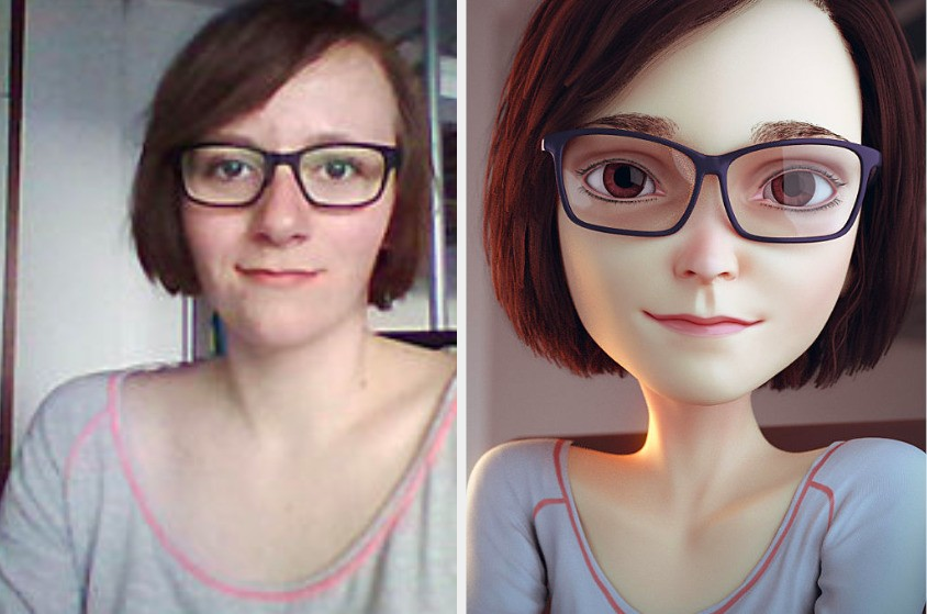 This Artist Can Draw You As If You're A Character In A Disney Pixar Movie