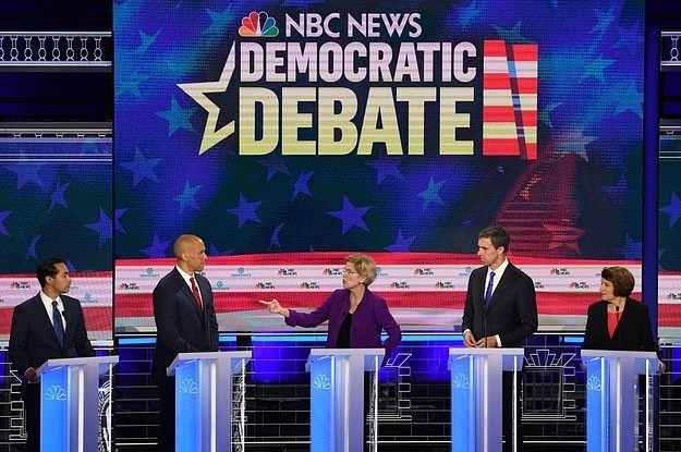 This Is What You Need To Know About The First Night Of The Democratic Debate