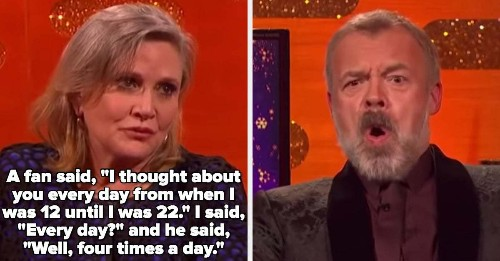 """18 Times Famous People Did Whatever The Hell They Wanted On """"The Graham Norton Show"""""""