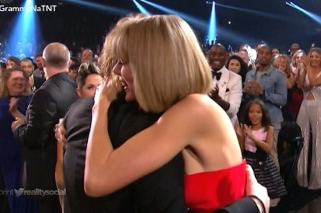 Taylor Swift Flipping Out Over Ed Sheeran's Grammy Win Is Actual Friendship Goals