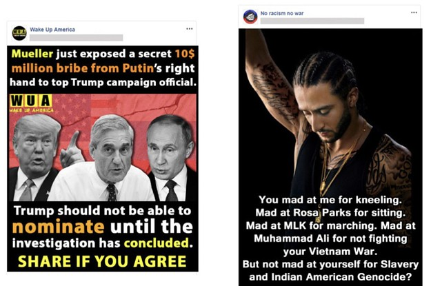 Facebook Just Removed 82 Iranian-Tied Pages And Accounts Posting Divisive Trump And Kaepernick Memes